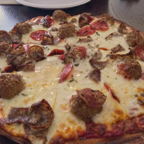 Great Put-in-Bay pizza.