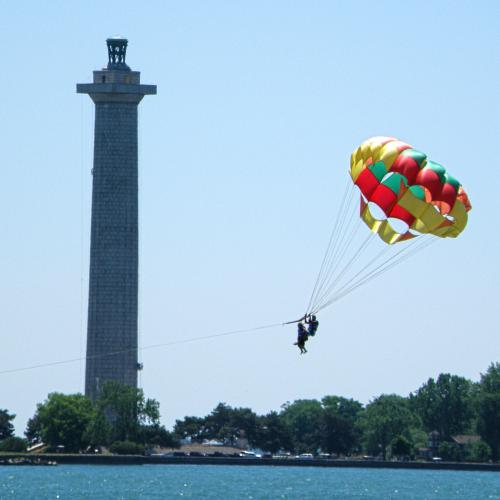 Put-in-Bay has parasailing, jet skis, and more.
